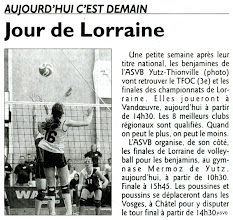 Photo: 02-06-2012 Finales championnats de Lorraine jeunes
