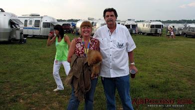 Photo: Gail G (GAR 119) w/ NASCAR President Mike Helton
