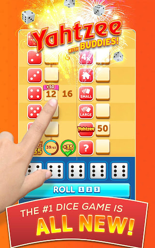 New YAHTZEEu00ae With Buddies Dice Game 5.6.5 Screenshots 8