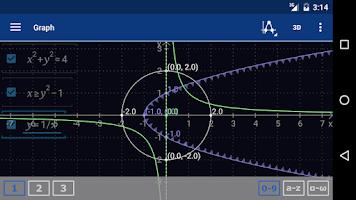 Screenshot of Graphing Scientific Calculator