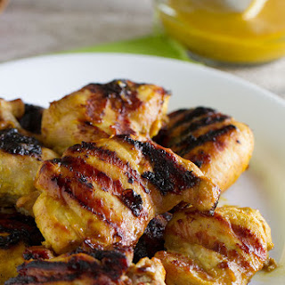 Grilled Brown Sugar Mustard Chicken