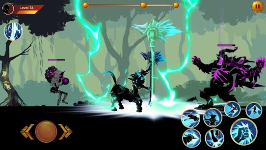 Shadow fighter 2: Shadow & ninja fighting games mod apk download for android 3