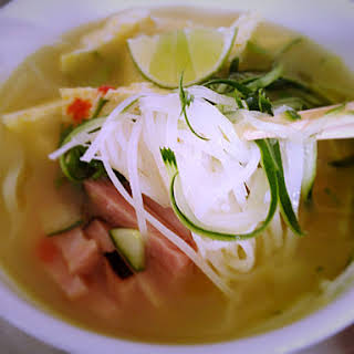 Pho Inspired Quickie Soup.