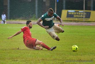 Photo: Sheriff Suma  [Leone Stars Vs. Equatorial Guinea, 7 Sept 2013 (Pic: Darren McKinstry)]