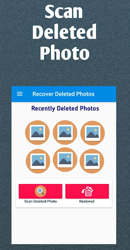 Photo Recovery :  restore, deleted photo recovery 1.0.0 app download 2