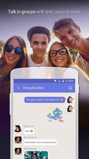 6 LINK - with people nearby App screenshot
