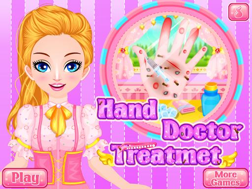 医生手游戏的女孩