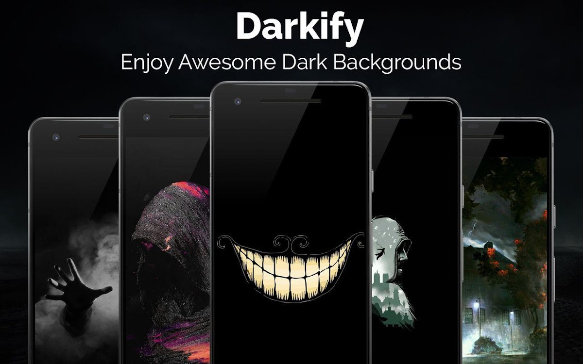 Black Wallpaper Amoled Dark Background Darkify Android