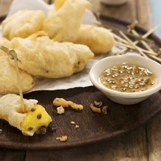 Crispy Asian Dessert Bites.