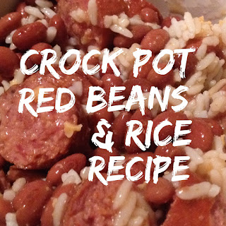 Easy Crock Pot Red Beans and Rice