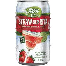 Logo of Bud Light Lime Straw-Ber-Rita