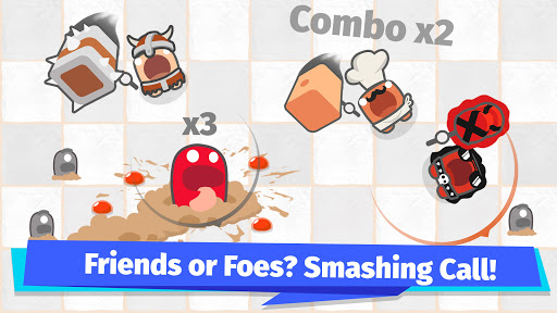Smashers.io Foes in Worms Land 1.8 screenshots 4