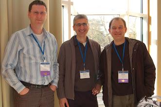 Photo: ESE 2008 - Ed Merks, Benoit and Xavier