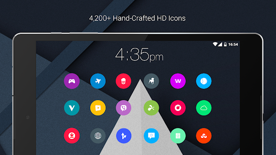 Material Things - Colorful Icon Pack (Pro Version) Screenshot