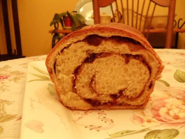 White Bread/raisin Orange Swirl Bread