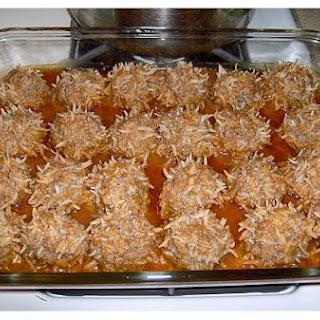 Oven Porcupine Meatballs