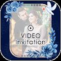 Video Invitation Card Maker - Video Cards Creator icon