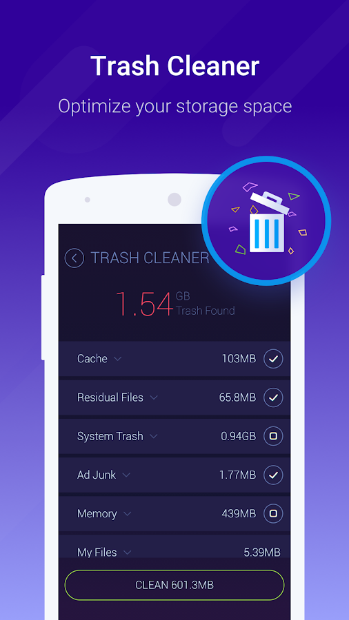 Cache Cleaner-DU Speed Booster (booster & cleaner)- screenshot