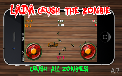Lada Crush the Zombie