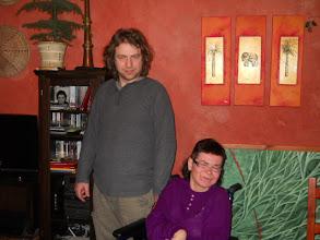 Photo: 09.03.  2011 roku - z Mariuszem