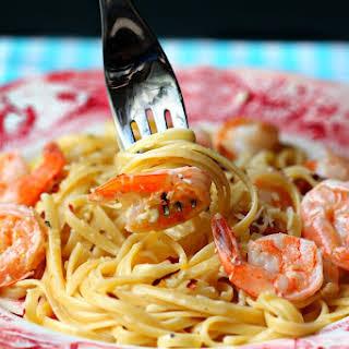 Copycat Red Lobster Shrimp Pasta.