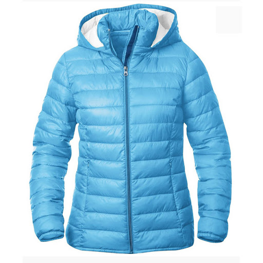 Clique Padded Jackets to Embroider - Sky Blue