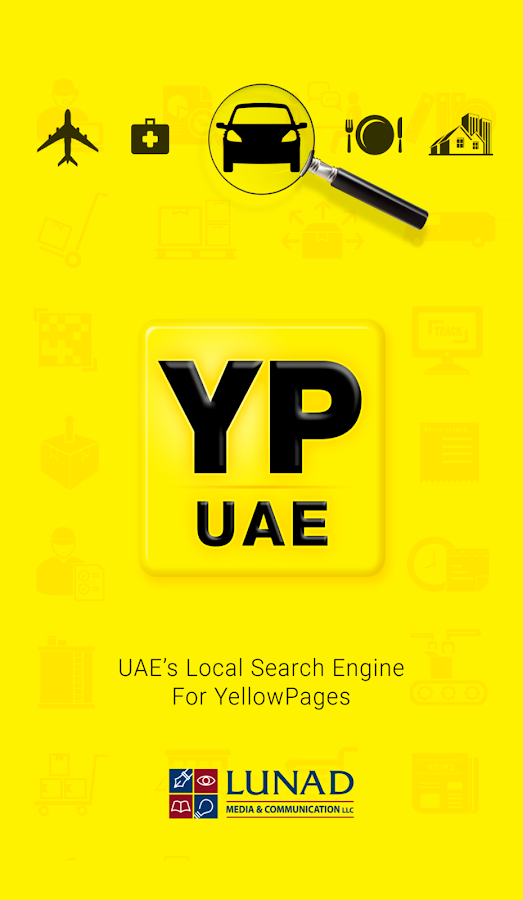 YP UAE for Yellow Pages- screenshot