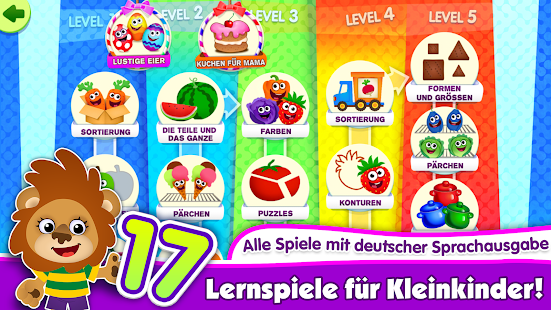 kinderspiele f r kinder ab 3 apps f r kleinkinder apps bei google play. Black Bedroom Furniture Sets. Home Design Ideas