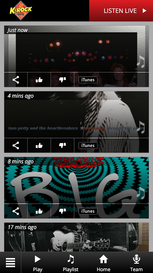 K-ROCK 97.5- screenshot