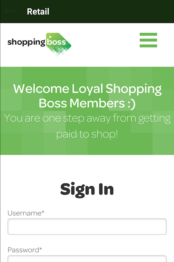 ShoppingBoss- screenshot