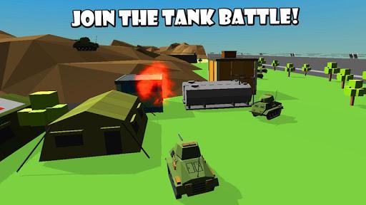 Cube Tank Battle Wars 3D