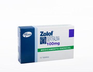 ZOLOF 100mg Tabletas   Caja x10Tab. PFIZER Sertralina