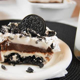 Oreo Icebox Dessert.