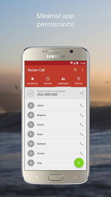 Secure Call - screenshot