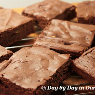 Flourless Brownies with Craisins and Pistachios Recipe