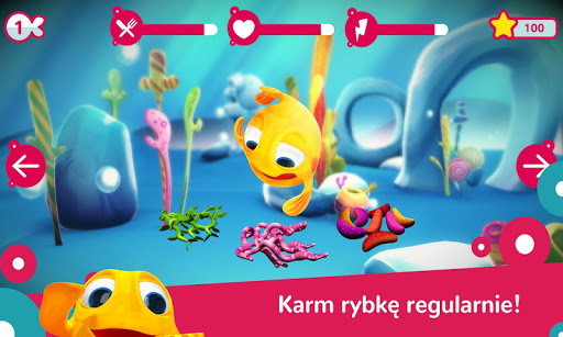 Wodny Świat Rybki MiniMini  captures d'écran 2