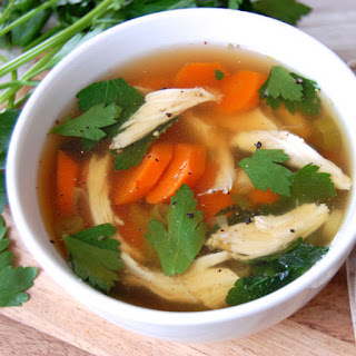 Homemade Chicken No-Noodle Soup