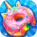 Unicorn Rainbow Donut - Sweet Desserts Bakery Chef icon