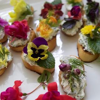 Spring Garden Edible Flowers + Herbs