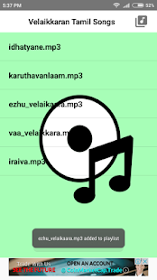 Velaikkaran Movie Songs(Tamil) - náhled