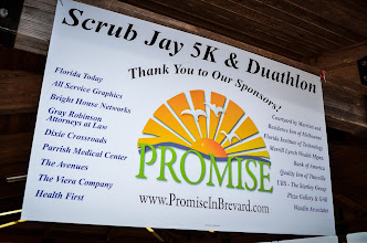 Photo: ScrubJay5K and Duathlon - 2014  A special thanks to all our wonderful sponsors. Help us tell them Thanks a Million!
