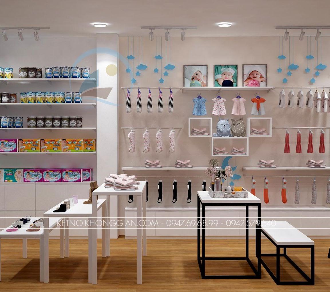 thiết kế shop thời trang trẻ em giá rẻ 9