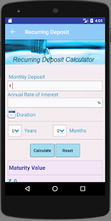 SBI Loan Calculator - náhled