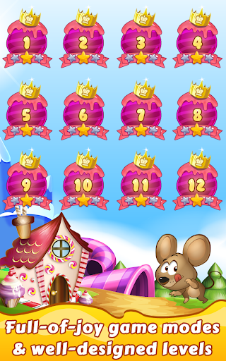 Cookie Star: Sugar cake puzzle match-3 game apktram screenshots 20