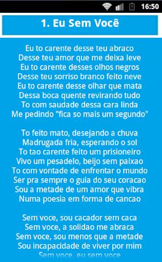 【免費音樂App】PAULA FERNANDES Pegando Letras-APP點子