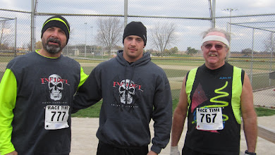 Photo: It's a running team with Elliott an active Duty Army home for the weekend.