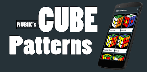 Cool Rubik's Cube Patterns Pro Apps para Android screenshot