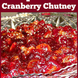 Special Cranberry Chutney