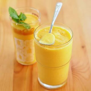 Mango Yogurt Smoothie.