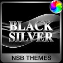 Black Silver Theme for Xperia icon